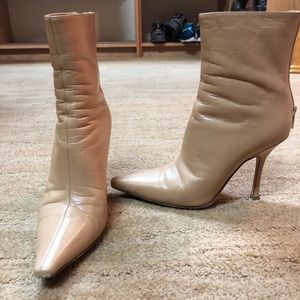 Jimmy Choo Leather Ankle Booties